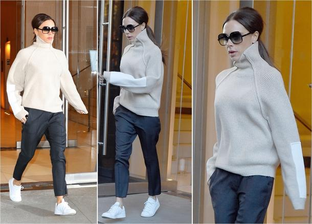 Best Look: Victoria Beckham w zestawie VB
