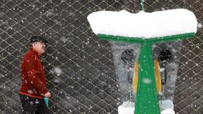 Atak zimy w Teheranie