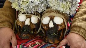 Dia de los Natitas - Dzień Czaszek w La Paz