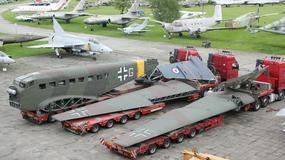 Ju52 w Muzeum Lotnictwa w Krakowie. Takim samolotem podróżował Adolf Hitler