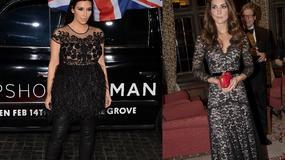 Ciążowy styl Kim Kardashian i Kate Middleton - która ma lepszy?