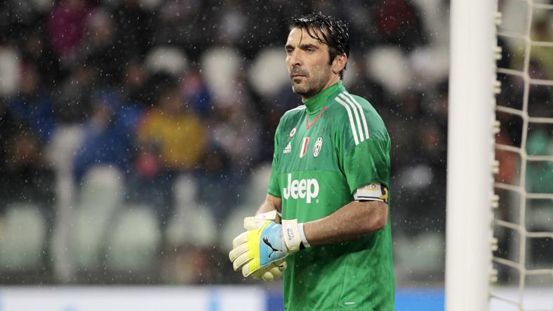 Gianluigi Buffon megdöntötte saját csúcsát / Fotó:AFP