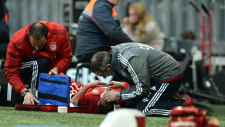Holger Badstuber megint hónapokra kidőlt/Fotó: AFP