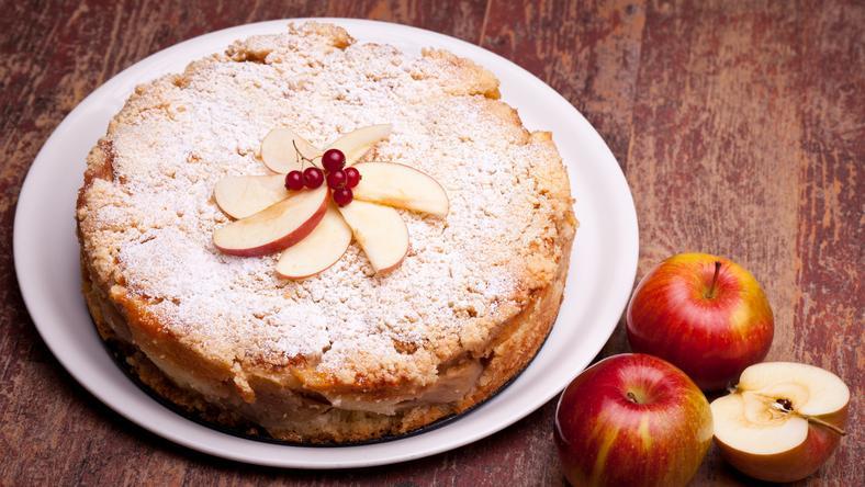 Az almatorta gyorsan elkészíthető Fotó: Shutterstock