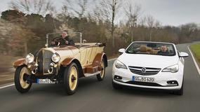 100-lat kabrioletów marki Opel