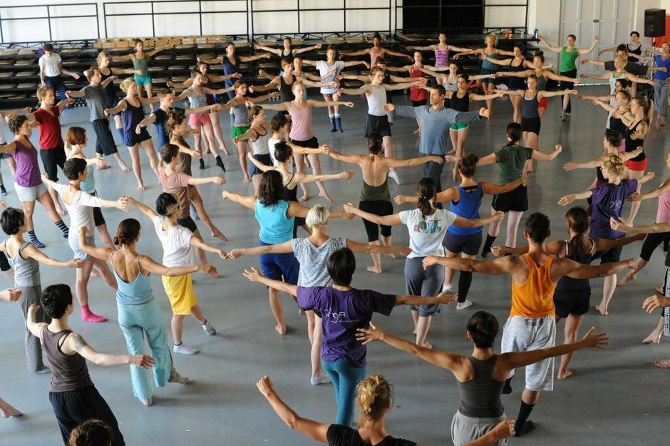 Pokaż tańca Gaga