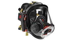 Maska dla strażaków z kamerą termiczną