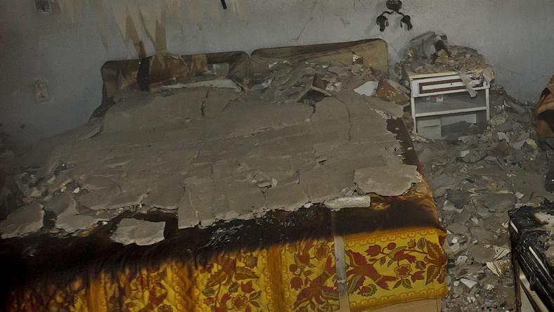 Teljesen kiégett a garzonlakás /Fotó: MTI - Lakatos Péter - Illusztráció