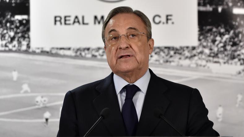 Florentino Pérez nem akar pénzt költeni játékosokra a télen /Fotó: AFP