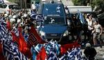 Demonstracije fašista u centru Atine