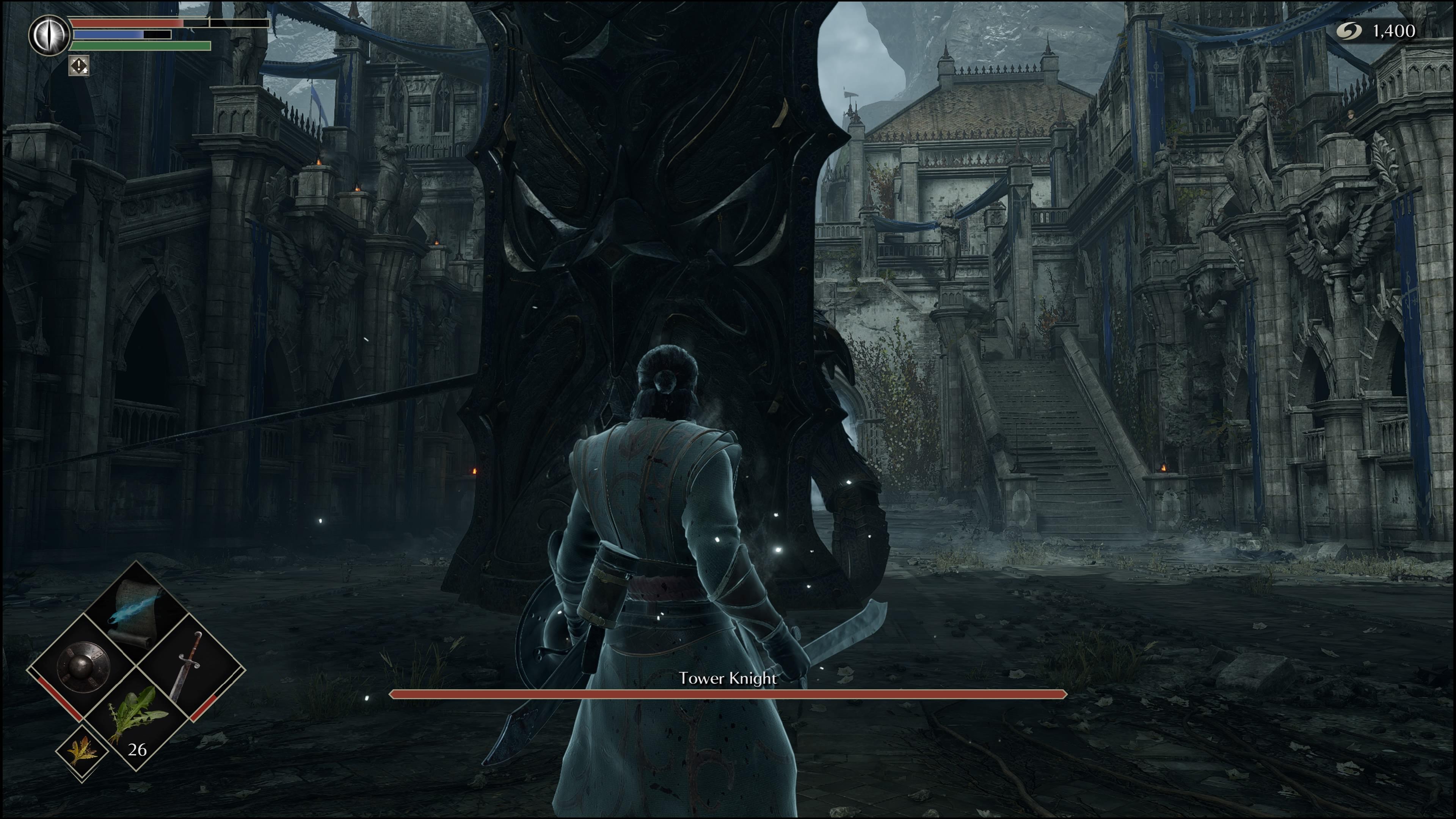 Väčšina bossov hráča prevyšuje nielen z hľadiska sily, ale aj fyzického vzrastu.