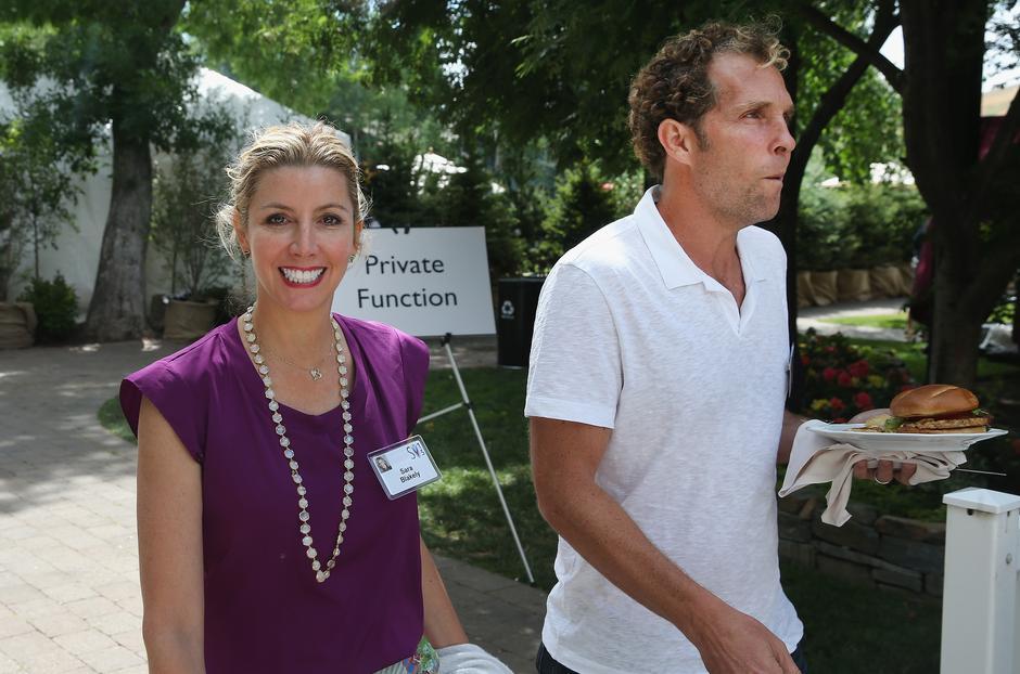 Sara Blakely i jej mąż Jesse Itzler