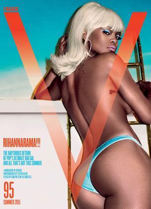 Rihanna na okładce V Magazine
