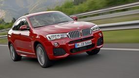 BMW X4 wycenione