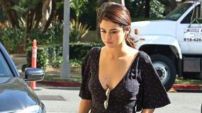 Selena Gomez pokazała sporo w sukience z dużym rozcięciem