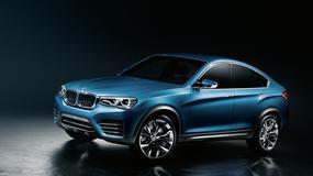 BMW X4 Concept: mniejsze X6