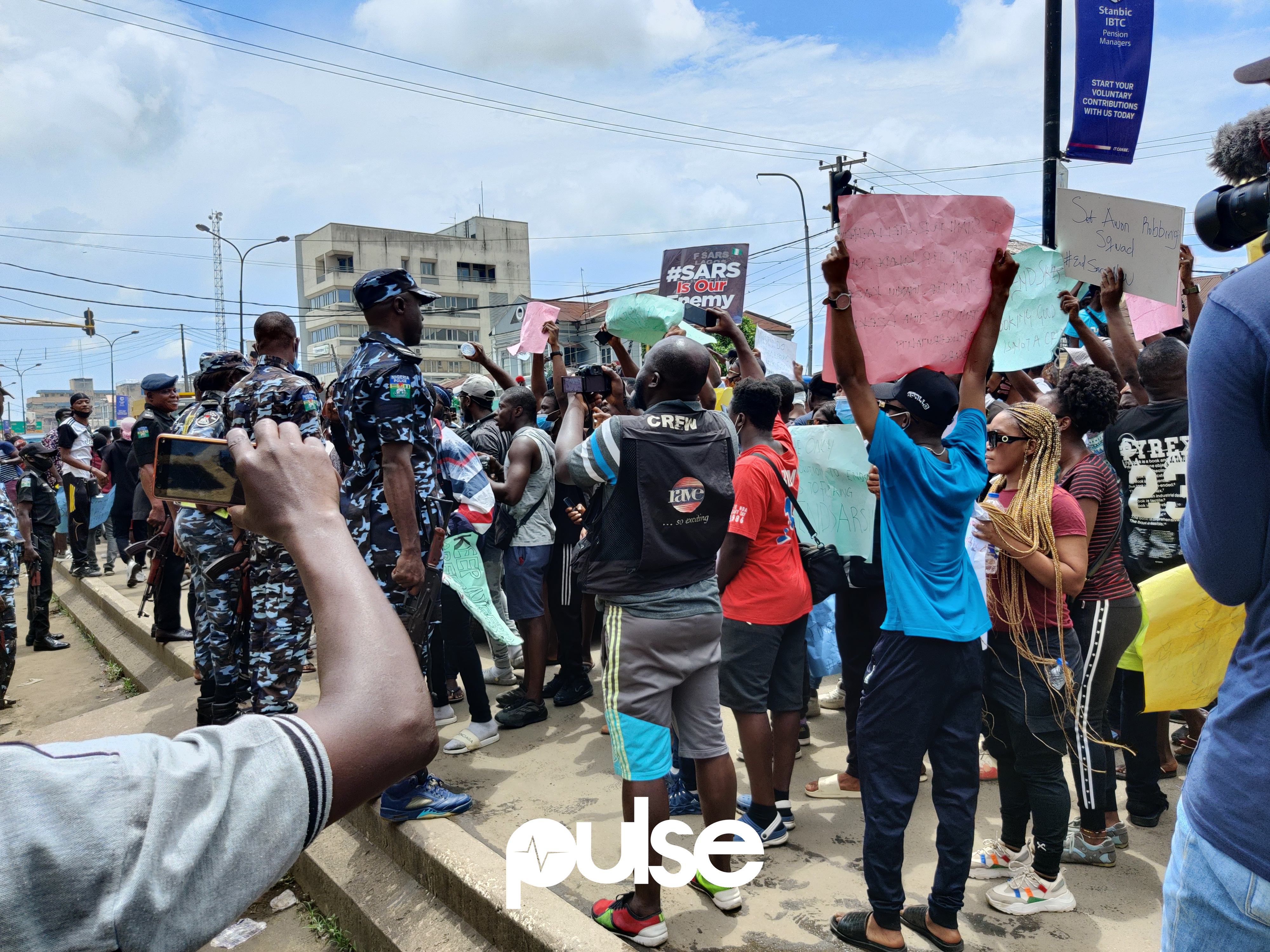#EndSARS protesters have refused to leave the streets until they are confident police brutality will not rear its ugly head again any time soon