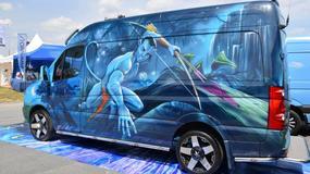 "Volkswagen Crafter ""Avatar"" - każdy się za nim obejrzy (Master Truck 2015)"