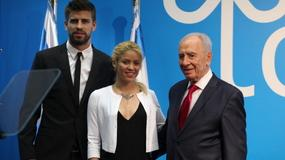 Shakira zabraa Pique do Jerozolimy