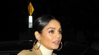 Best Look: Vanessa Hudgens w płaszczu Burberry