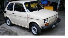 Fiat 126p - na liczniku tylko 7 tys. kilometrów
