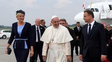 Para prezydencka przywitała papieża Franciszka