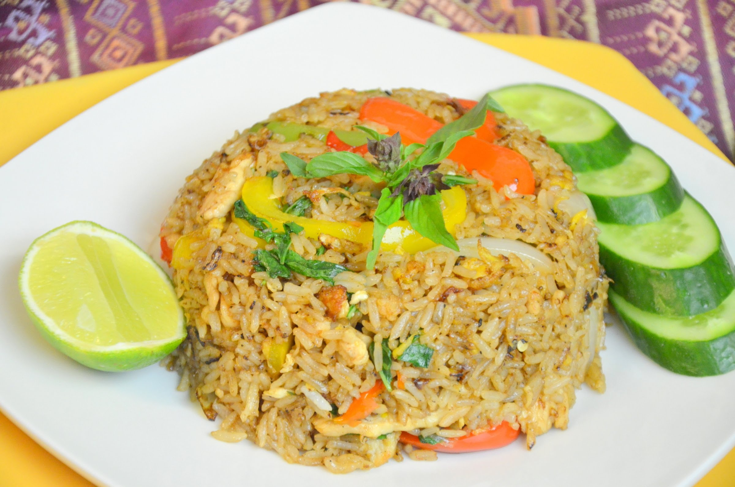 Christmas Recipe How To Make Thai Chicken Fried Rice Article Pulse Ghana