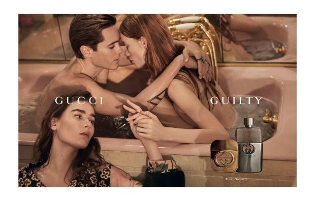 Jared Leto w kampanii Gucci Guilty