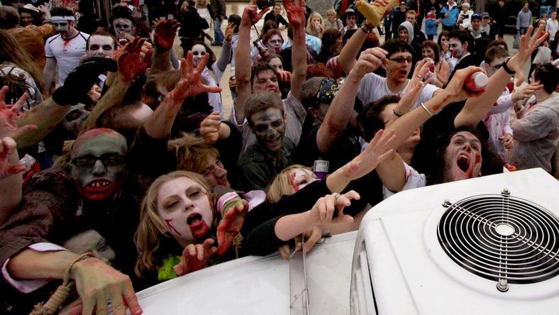 Ezúttal nem jött be a zombi trükk / Fotó: Northfoto