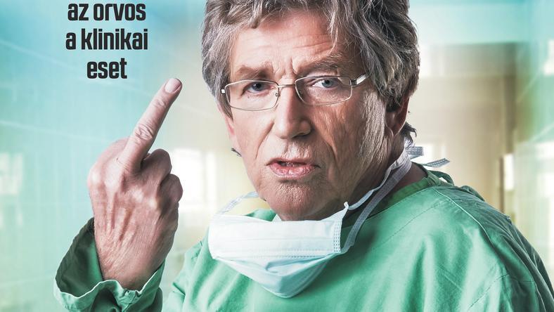 Kern András az egész világnak int be legújabb filmje plakátján