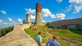 Stutysięczny turysta na wyremontowanym zamku w Chęcinach