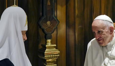 ISTORIJSKI TRENUTAK Patrijarh Kiril i papa Franja sreli se u Havani