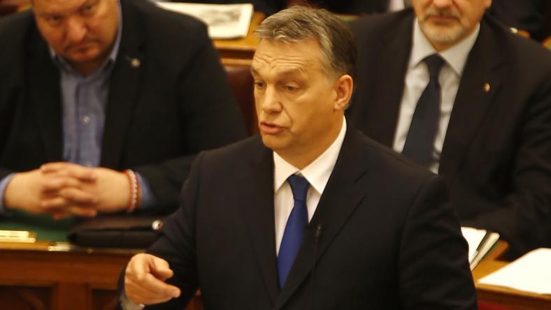 Napirend előtt szólalt fel Orbán Viktor /Fotó: Fuszek Gábor