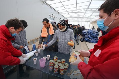 Prihvatni centar za migrante u Subotici