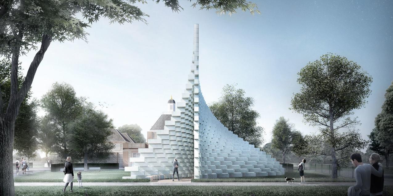 Serpentine pavilion rendering 1