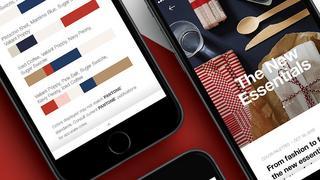 Aplikacja stworzona przez Pantone