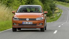 Volkswagen Polo VI - polowanie na Golfa