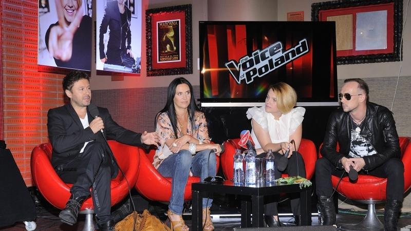 "Jury ""The Voice of Poland"" (fot. mwmedia)"