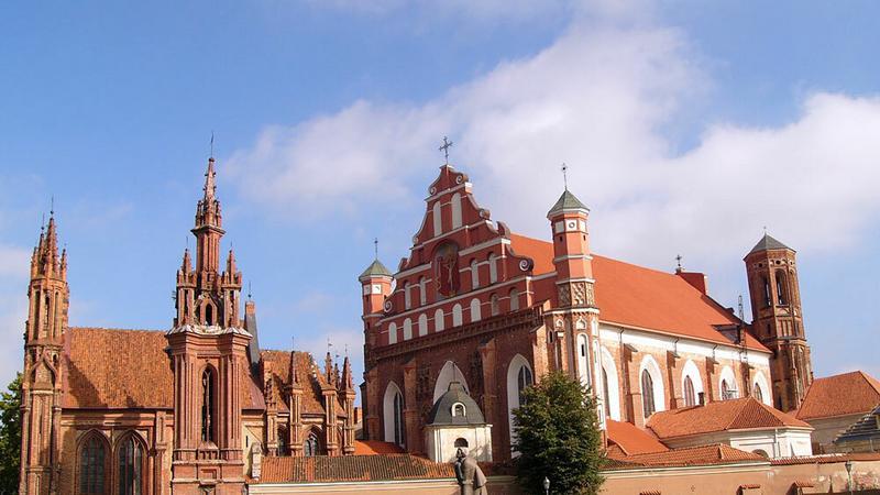 Wilno, kościół św. Anny i klasztor Bernardynów