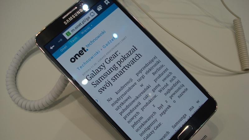 Samsung Galaxy Note III - IFA 2013
