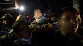 Cud w Nepalu: przeżył pod gruzami 80 godzin