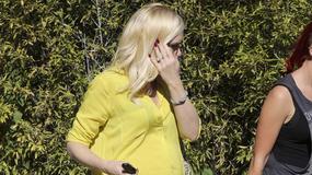 Gwen Stefani z widoczną ciążą