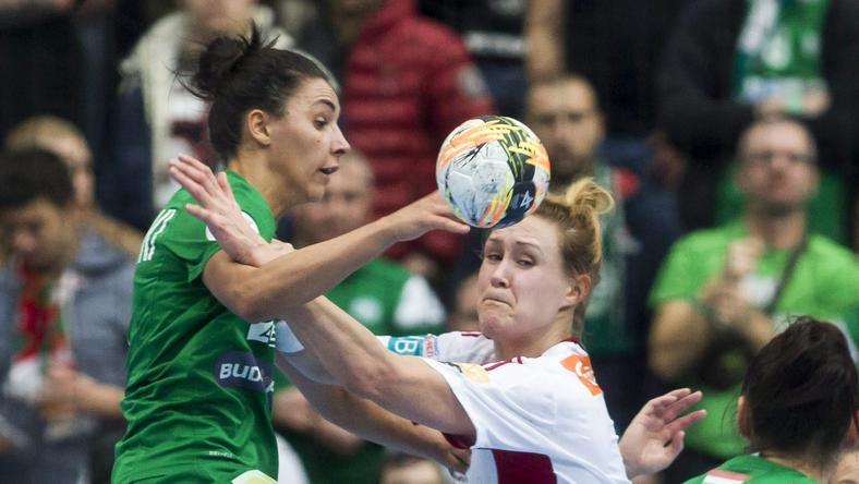 Szucsánszki Zita és a zöld-fehérek a Larvikot is legyőzték /Fotó: MTI - Szigetváry Zsolt