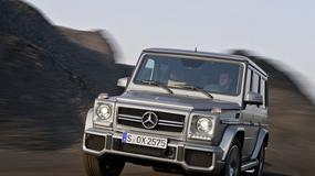 Odświeżony Mercedes G 63 AMG