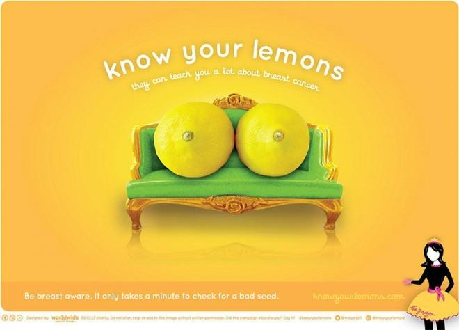 "Kampania ""Know Your Lemons"""