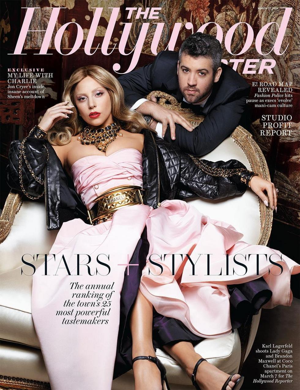 fot. Karl Lagerfeld / The Hollywood Reporter