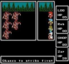 """<P>10. """"Final Fantasy 1"""" </P>Pierwsza część słynnej serii, stworzona w 8-bitowej grafice."""
