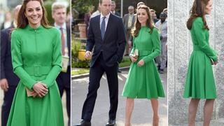 Best Look: Kate Middleton w płaszczu Catherine Walker