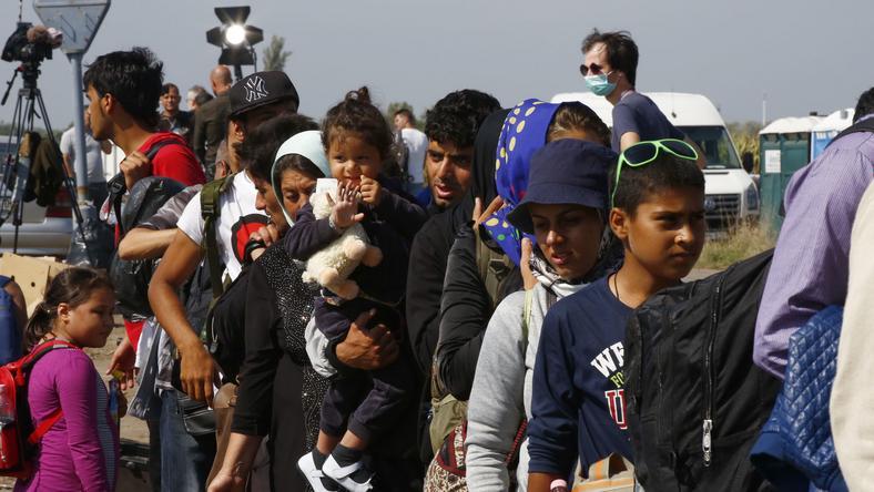 Nem csökken a bevándorlók száma, egyre többen és többen érkeznek /Fotó: Fuszek Gábor