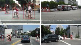 Inteligentne auta będą widzieć pieszych tak jak my